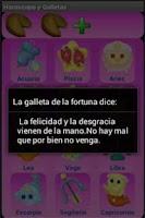 Screenshot of Horóscopo y Galletas
