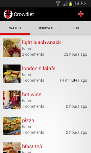 食品和饮食的社交网络。