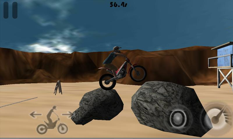 Trials On The Beach Demo- screenshot