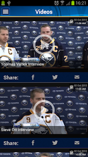 Buffalo Sabres Official App - screenshot thumbnail