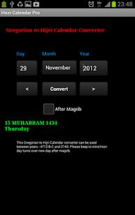 Hijri Calendar Pro - screenshot thumbnail