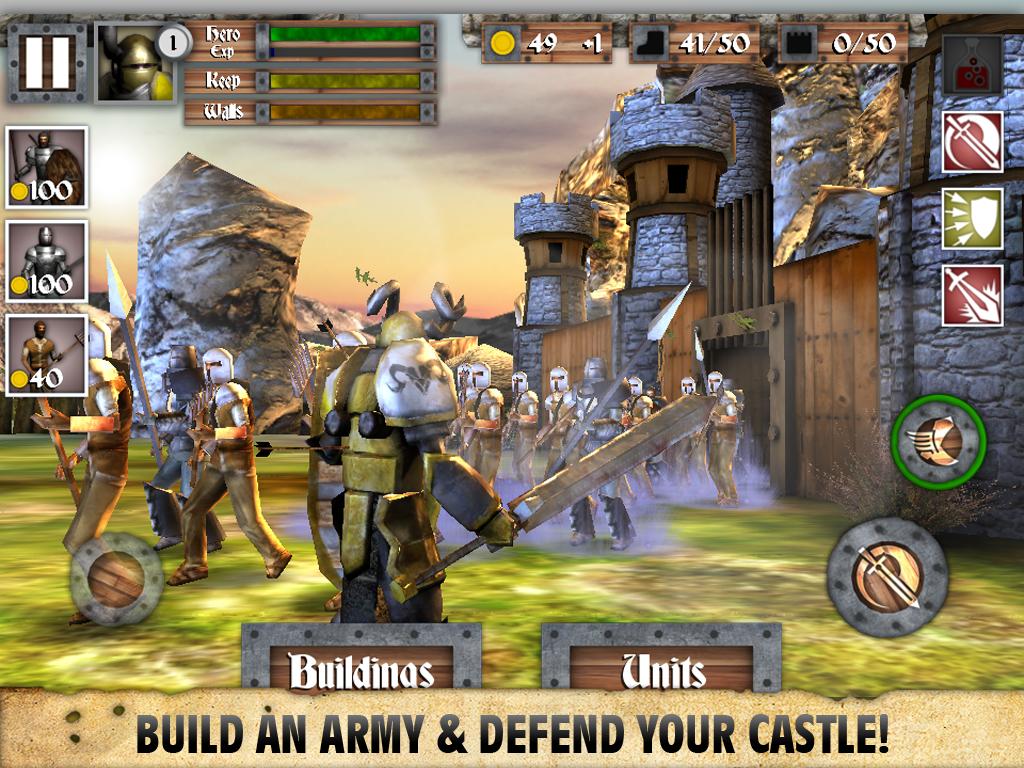 Heroes and Castles screenshot #6