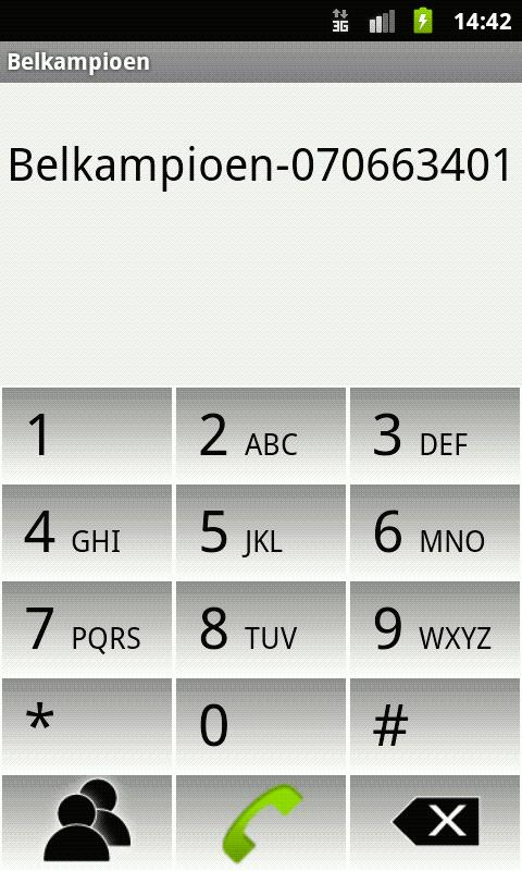 Belkampioen - screenshot