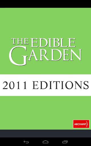 The Edible Garden 2011