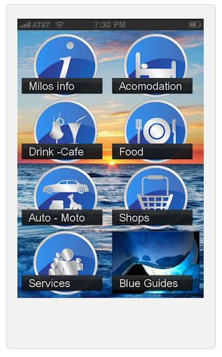 Milos Kimolos Blue Guides