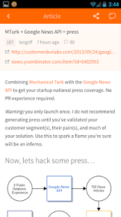 Hacker News (YC) - screenshot thumbnail