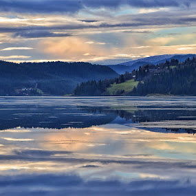 Magical evening by Hilde Lorgen - Landscapes Waterscapes