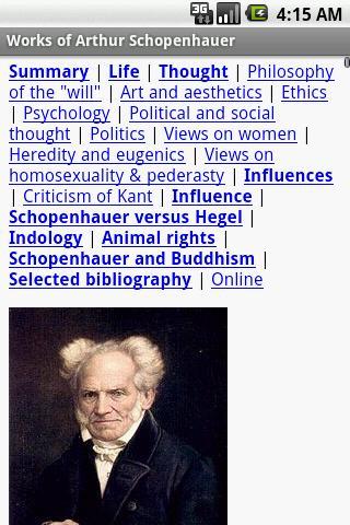 schopenhauer essays adelaide