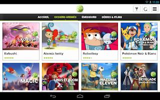 Screenshot of Gulli – l'appli des enfants