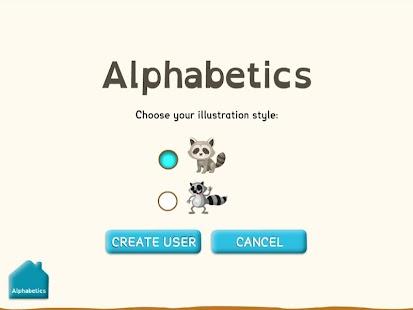Alphabetics- screenshot thumbnail