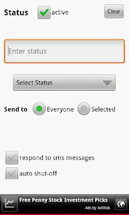 Text Answering Machine Lite- screenshot thumbnail