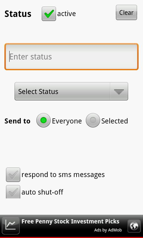 Text Answering Machine Lite - screenshot