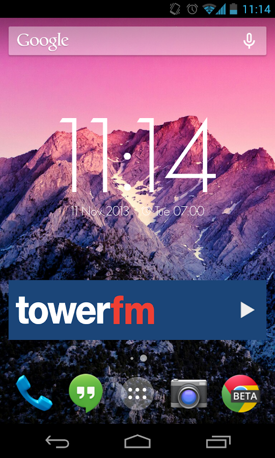 Tower FM Radio - screenshot