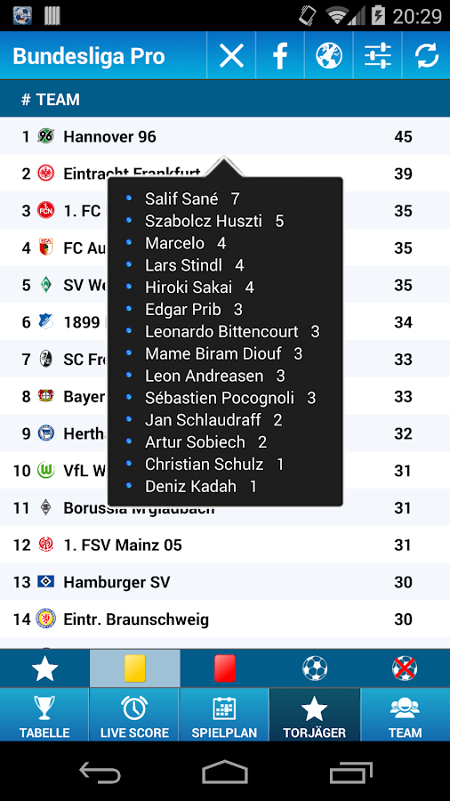 Bundesliga Pro - screenshot