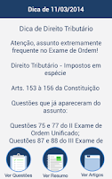 Screenshot of OAB de Bolso - Provas e Aulas