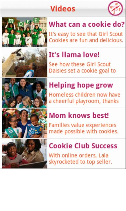 Girl Scout Cookie Locator - screenshot