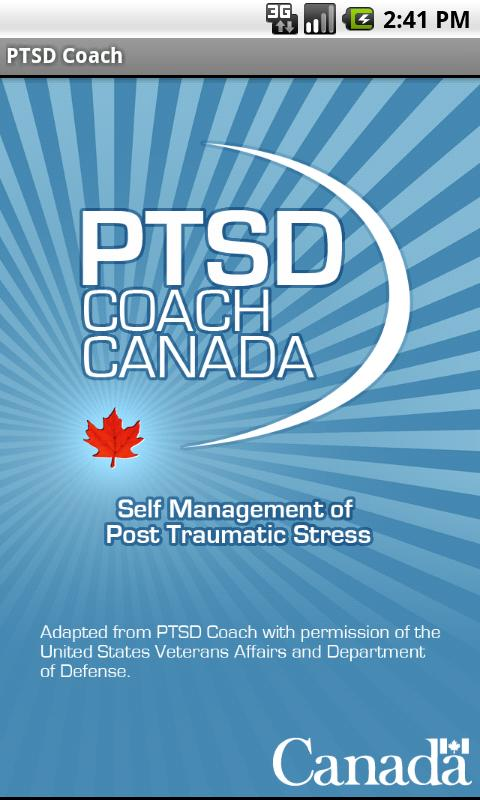 PTSD Coach Canada- screenshot