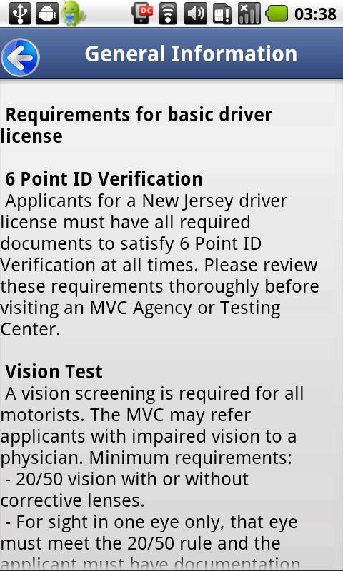 Driver License Test New Jersey Android Apps On Google Play