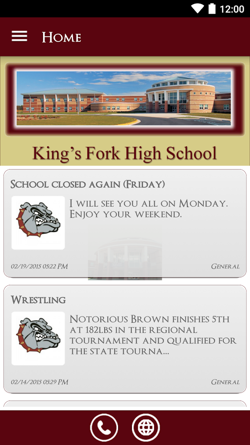 King's Fork High School- screenshot