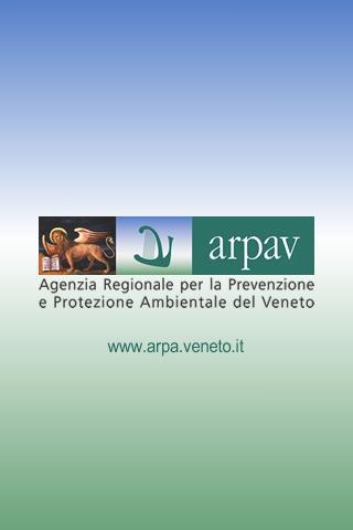 App ARPAV Meteo- screenshot