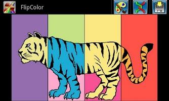 Screenshot of FlipColor