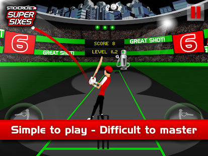 Stick Cricket Super Sixes - screenshot thumbnail