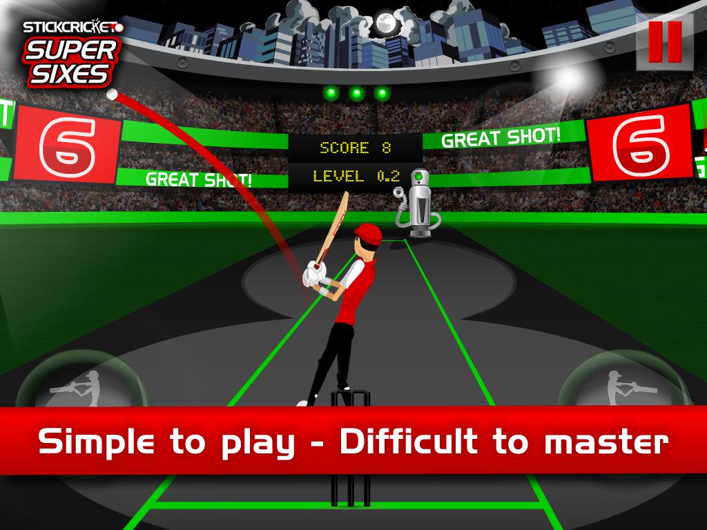 Stick Cricket Super Sixes screenshot #8