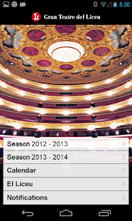 Gran Teatre del Liceu- screenshot thumbnail