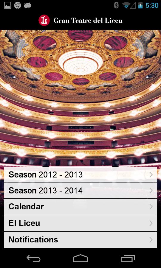 Gran Teatre del Liceu- screenshot