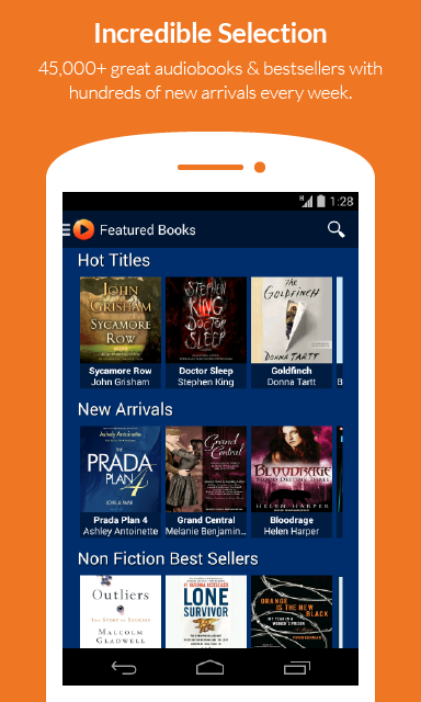 Audio Books by Audiobooks - screenshot