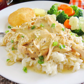 Crock Pot Chicken and Gravy.