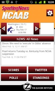 Sporting News NCAA Basketball - screenshot thumbnail