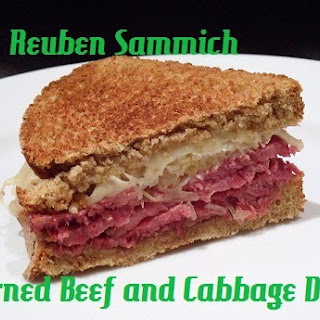 Happy St. Paddy's Day! Have a Reuben Sammich with your left over cornedbeef
