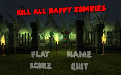 Kill all Happy Zombies- screenshot thumbnail