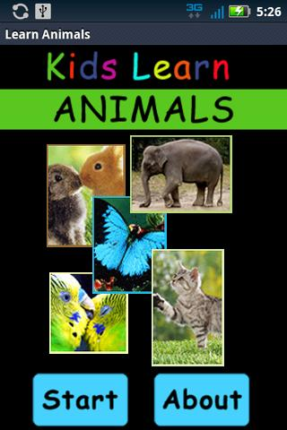 Kids Learn Animals - screenshot
