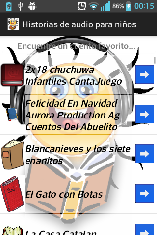 Historias de audio para niños - screenshot