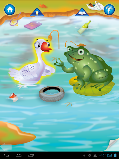 玩免費教育APP|下載Animal Pond- Kids Draw & Paint app不用錢|硬是要APP