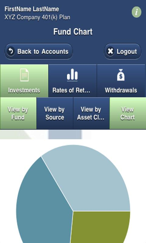 Milliman Mobile Benefits - screenshot