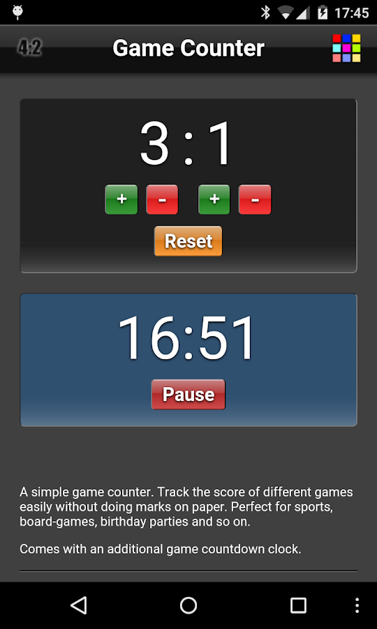 Game Counter- screenshot