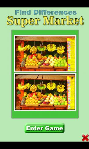 Find Differences: SuperMarket