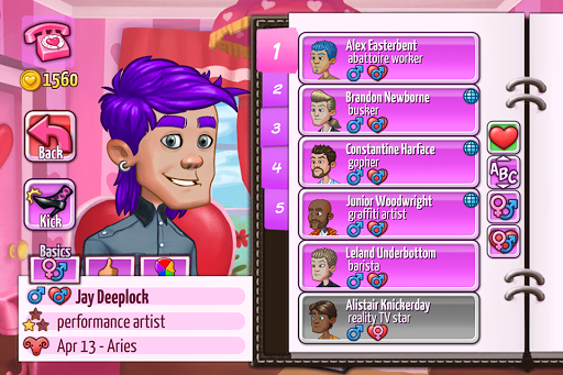 Kitty Powers' Matchmaker - screenshot