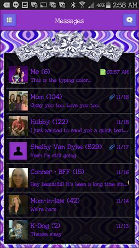 GO SMS THEME - SCS388