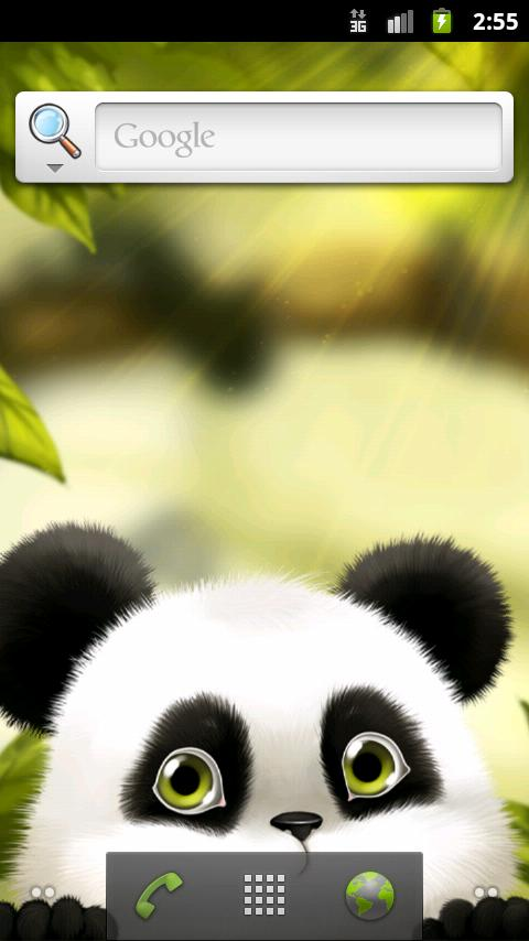 Panda Chub Live Wallpaper Free - screenshot