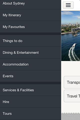 Sydney Official Guide - screenshot