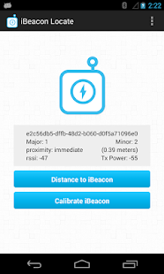 iBeacon Locate - screenshot thumbnail