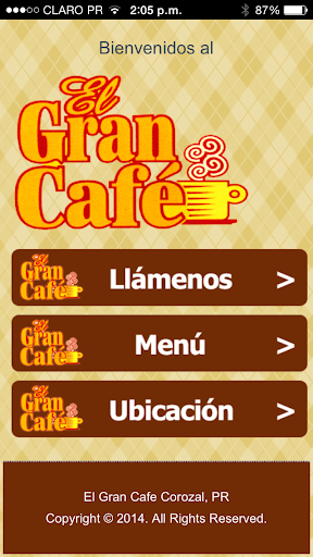 El Gran Cafe