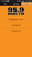Screenshot of 95.9 Duke FM Terre Haute