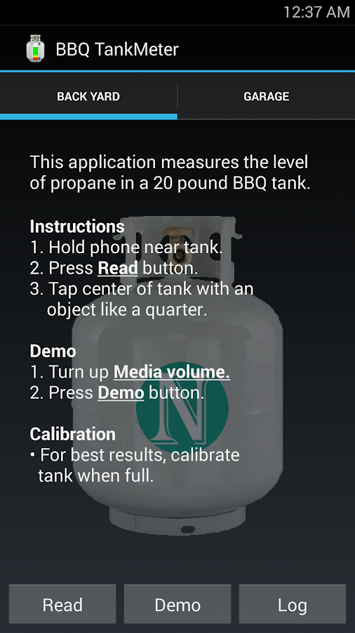 BBQ TankMeter - Grill Gauge- screenshot