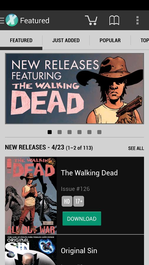 Comics - screenshot
