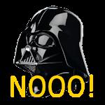 Darth Vader Nooo! Button